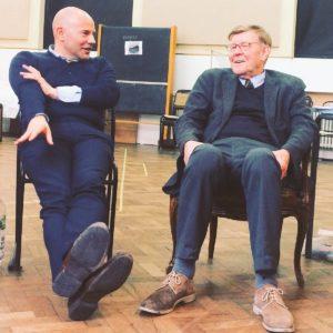 Alan Bennett and Alan Cox