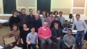 Alan Bennett with cast