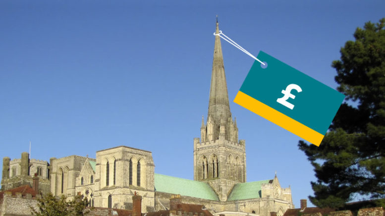 Chichester Cathedral Poundland