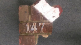 Fly tipping bricks