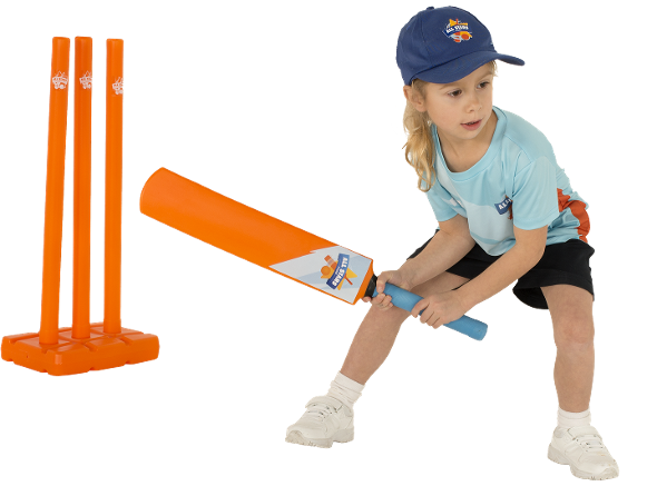Girl batting