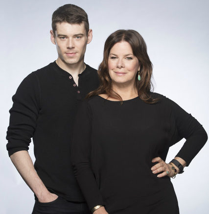 Sweet Bird of Youth at Chichester Festival Theatre_Marcia Gay Harden & Brian J. Smith_Photo by Johan Persson_00307