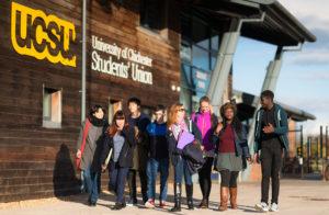 Chichester University Students