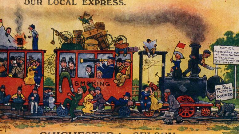 Tramway Cartoon