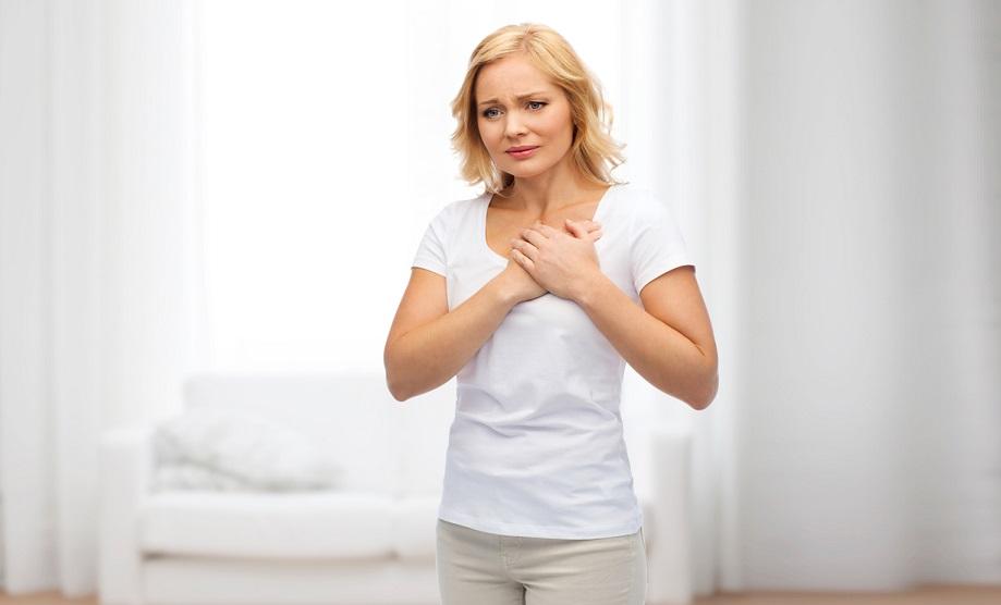 Heartburn Woman