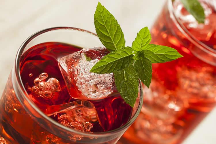 Agua de Jamaica Mocktail