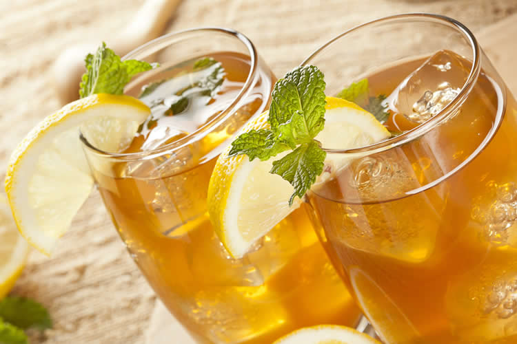 Jasmine Ginger Iced Tea