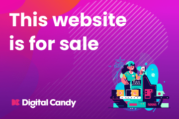 News Website for sale on digital candy